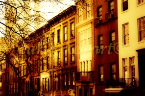 Brown Brownstones
