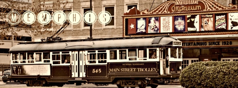 Main Street Trolley Memphis, TN