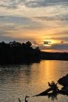 Sunset Over theCumberland