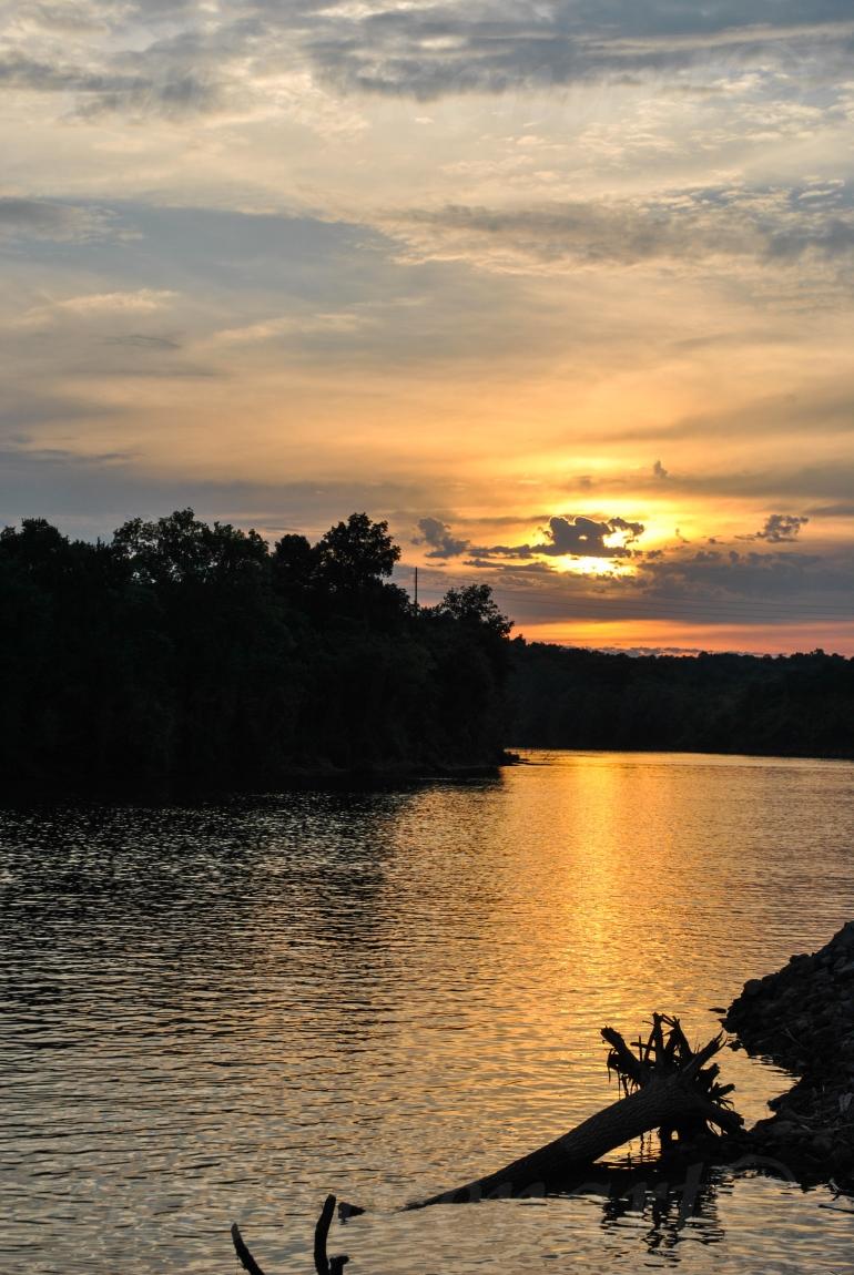 Sunset Over the Cumberland 1
