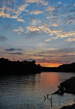 Sunset Over the Cumberland 2